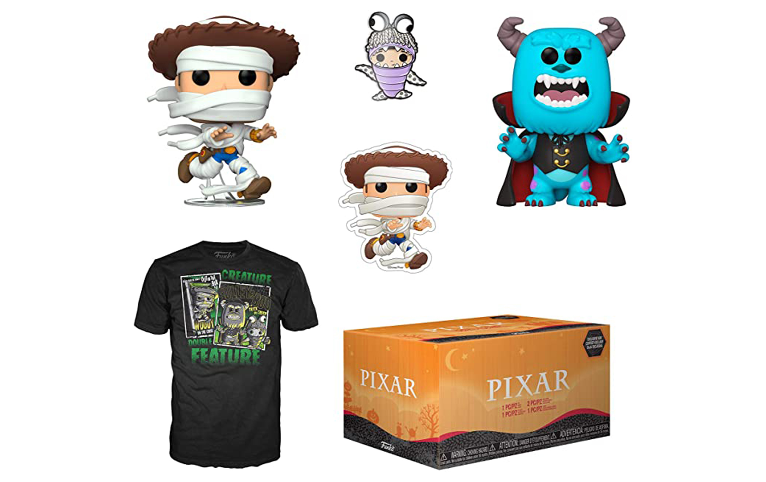 Disney Pixar Halloween Box Funko POP Vinyl Figure Taglia M