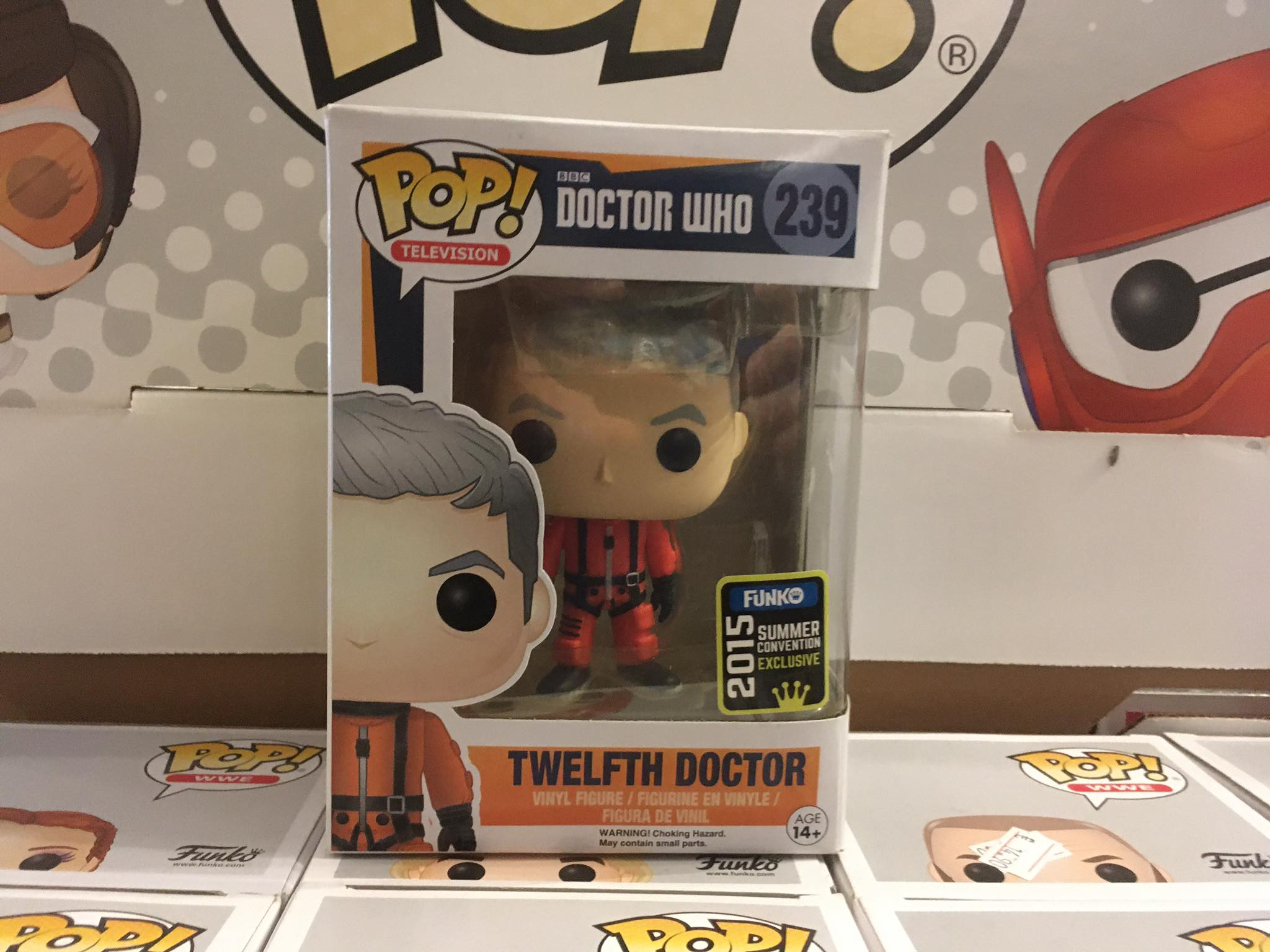 Doctor Who Twelfth Doctor Summer Convention 2015 8/10