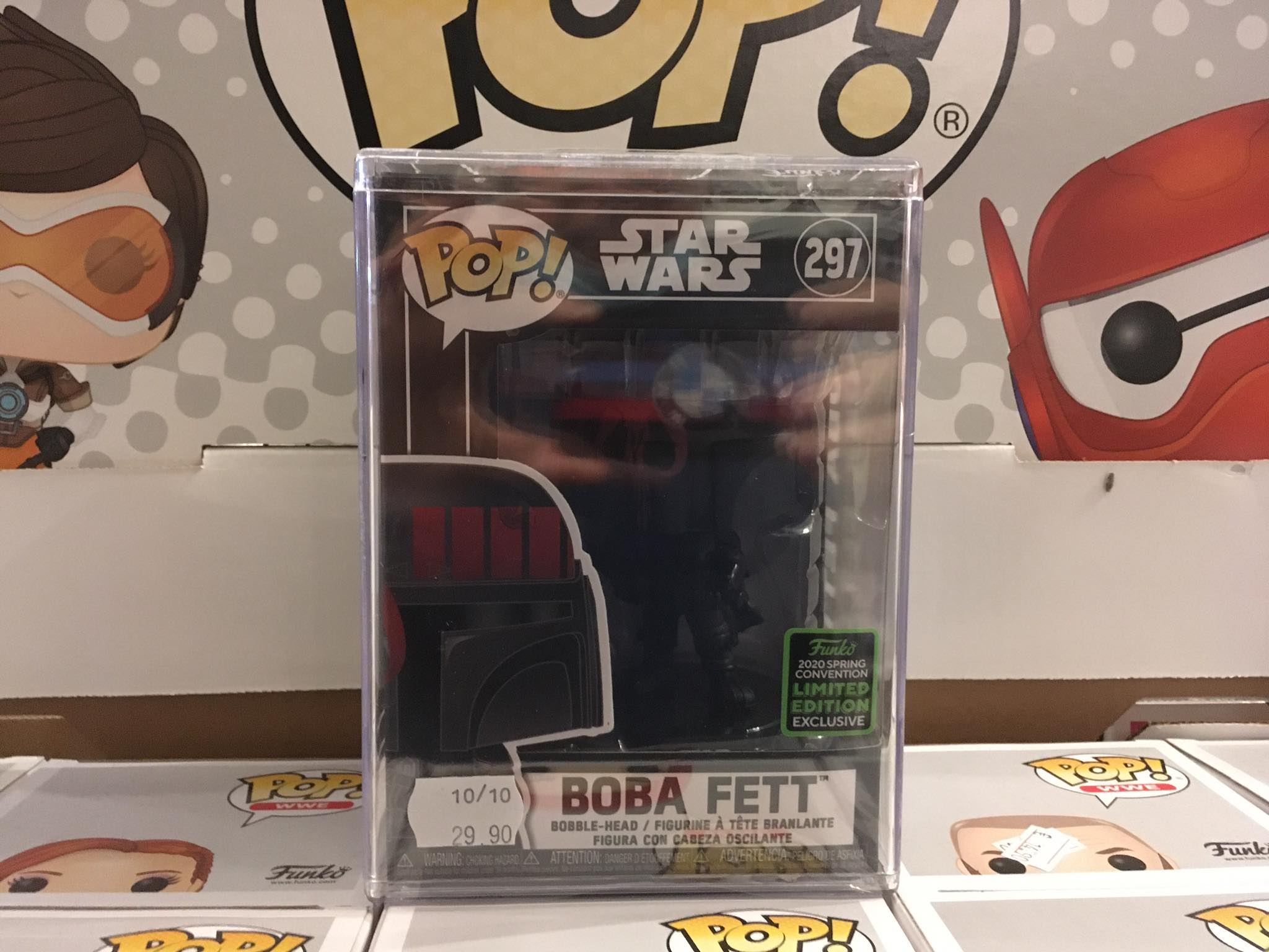 Star Wars Boba Fett Futura Spring Convention 2020 10/10