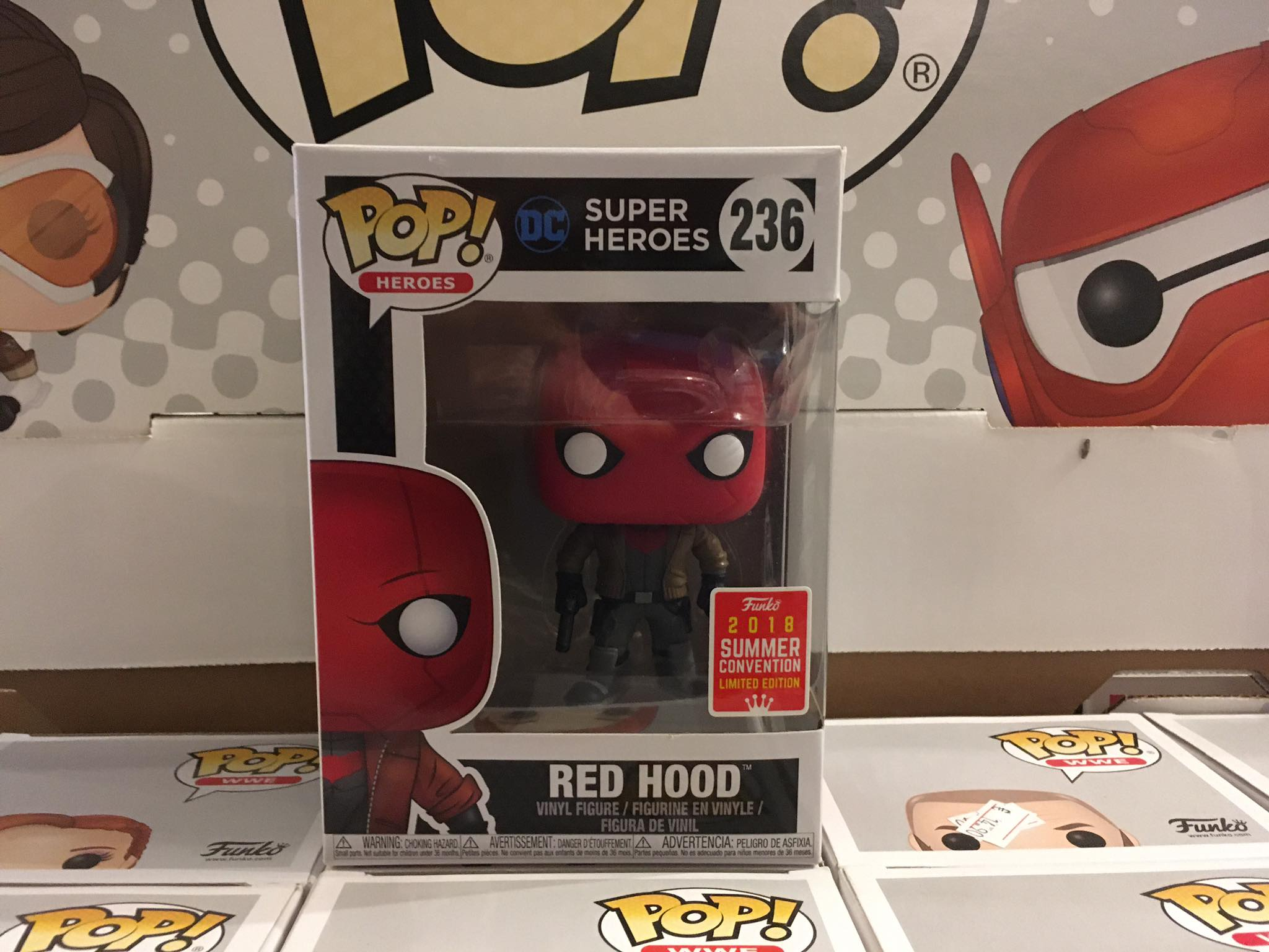 DC Super Heroes Red Hood Summer Convention 2018 10/10