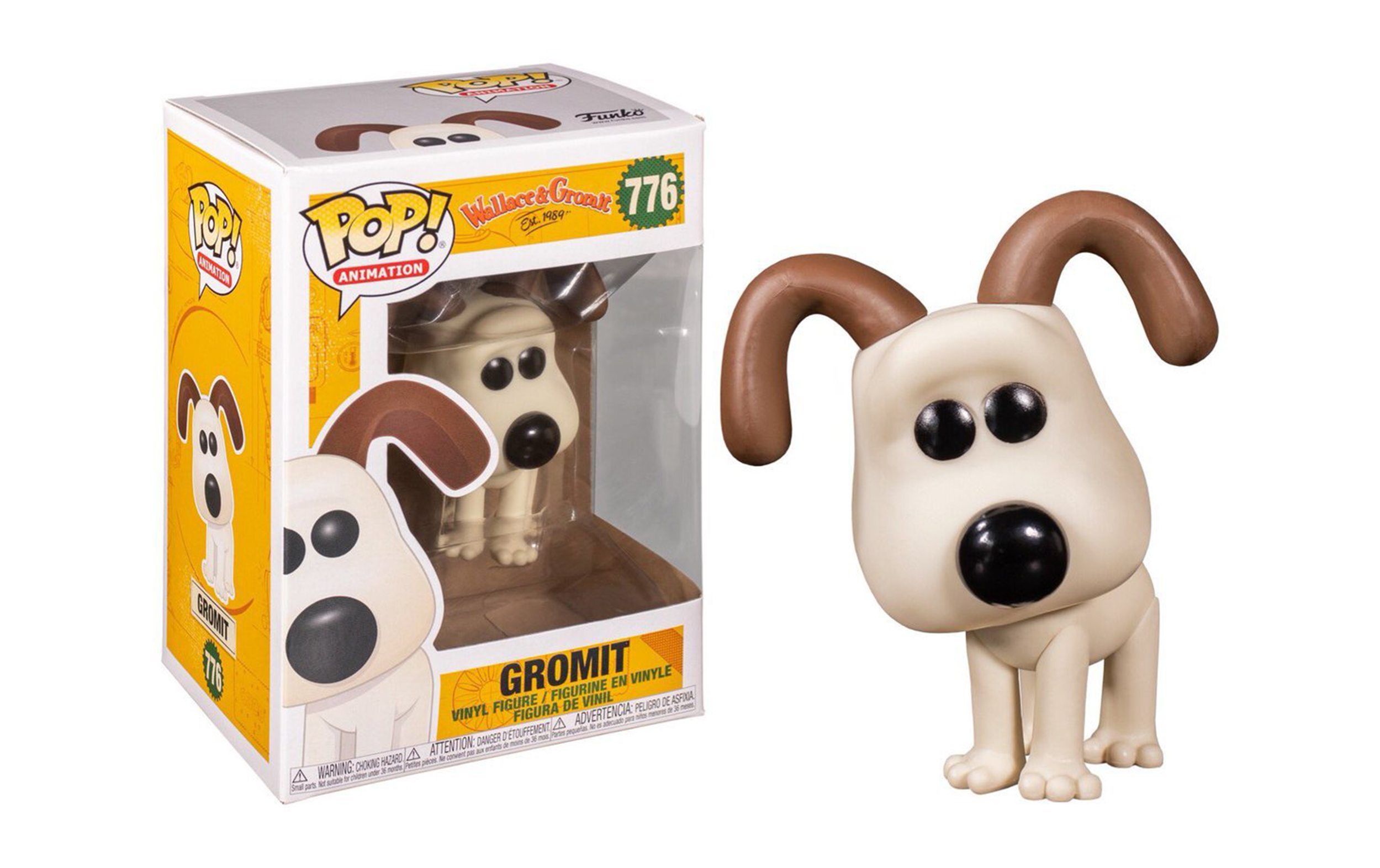Wallace and Gromit Gromit 776 Funko POP Vinyl Figure