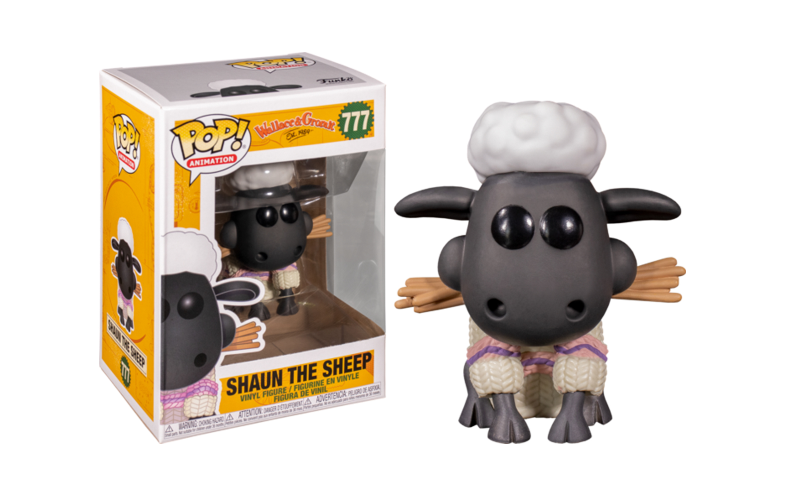 Wallace and Gromit Shaun The Sheep 777 Funko POP Vinyl Figure