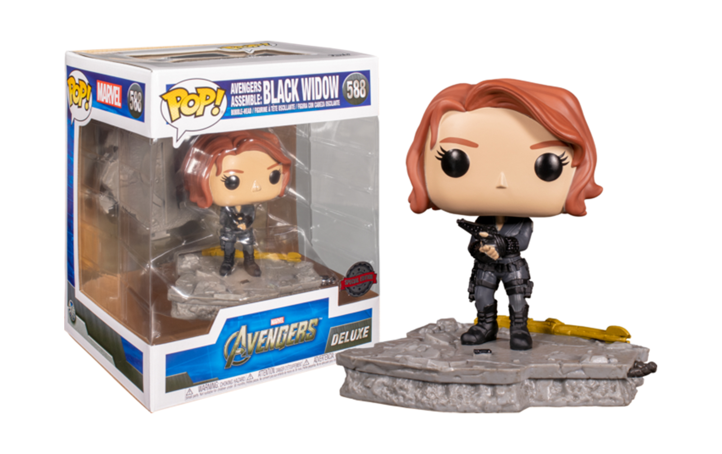 Marvel Avengers Assemble: Black Widow 588 Funko POP Vinyl Figure