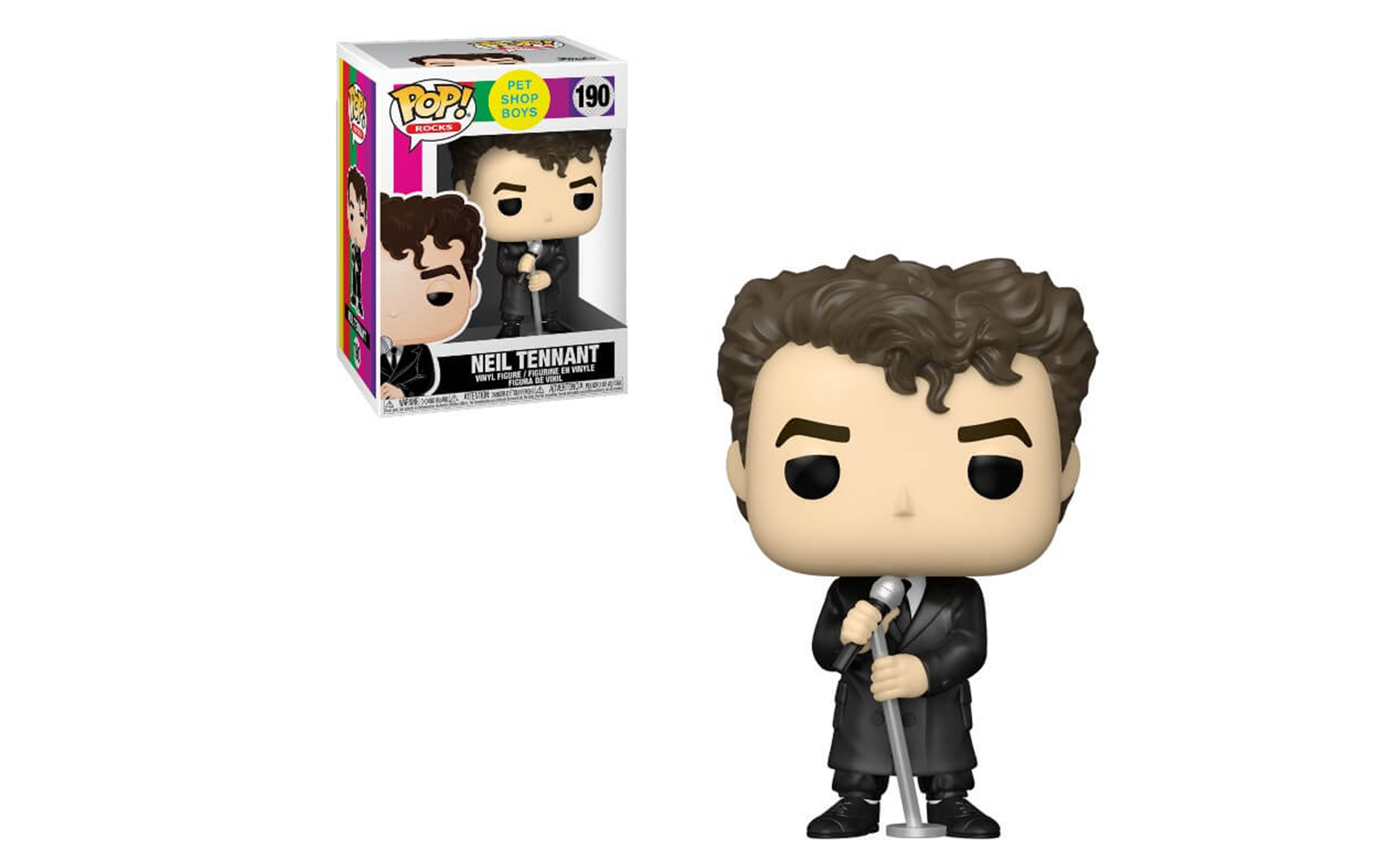 Pet Shop Boys Neil Tennant 190 Funko POP Vinyl Figure
