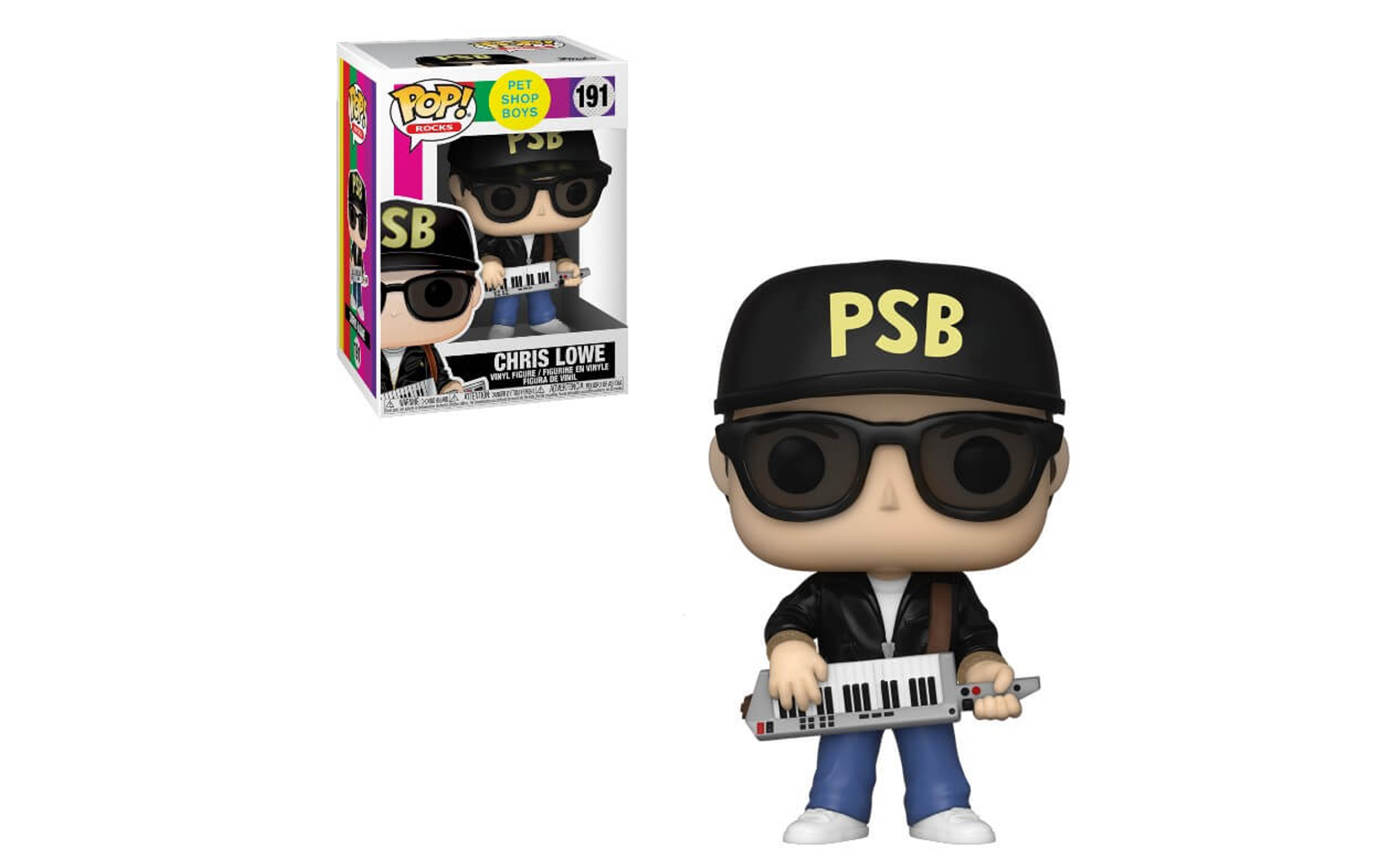 Pet Shop Boys Chris Lowe 191 Funko POP Vinyl Figure