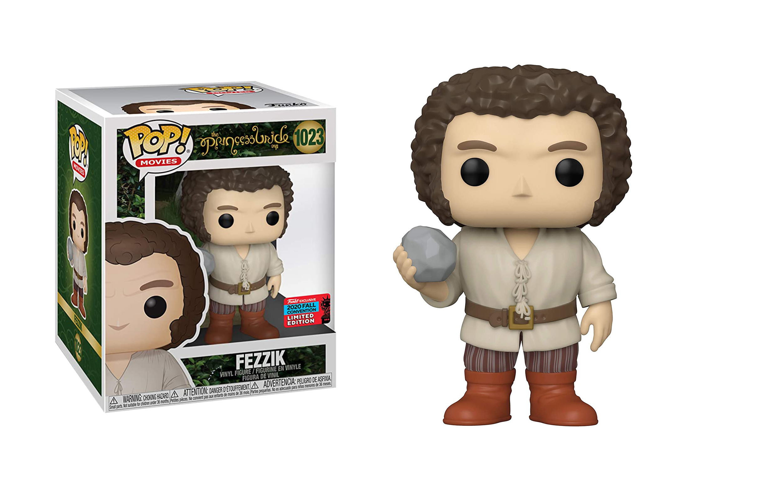 The Princess Bride Fezzik Fall Convention 2020 1023 Funko POP Vinyl Figure
