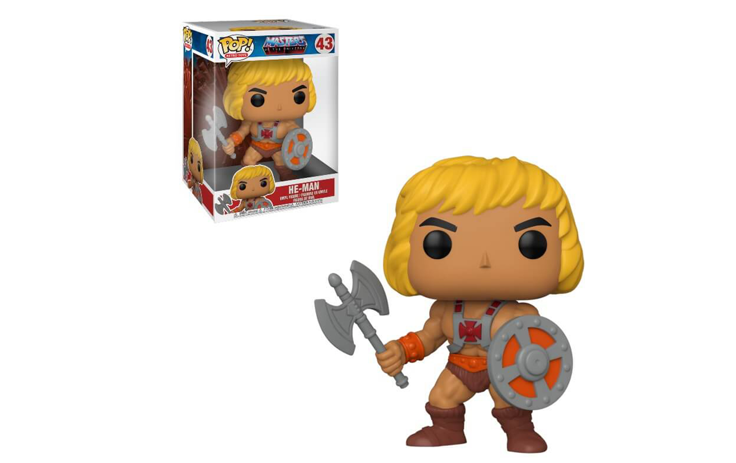Masters of the Universe He-Man 43 Funko POP Vinyl Figure
