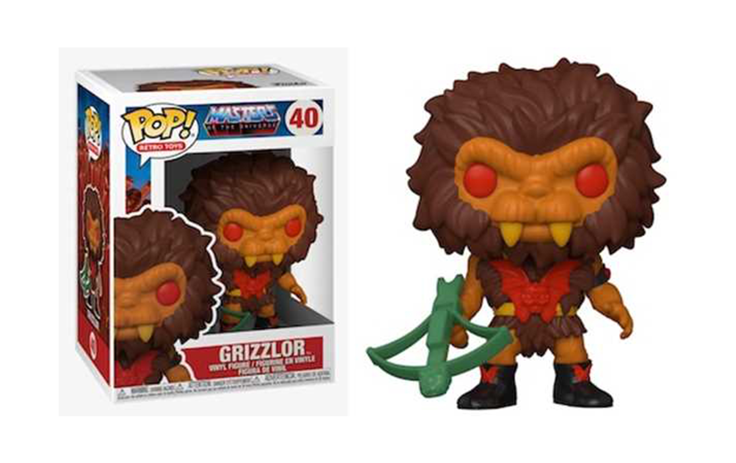 Masters of the Universe Grizzlor 40 Funko POP Vinyl Figure