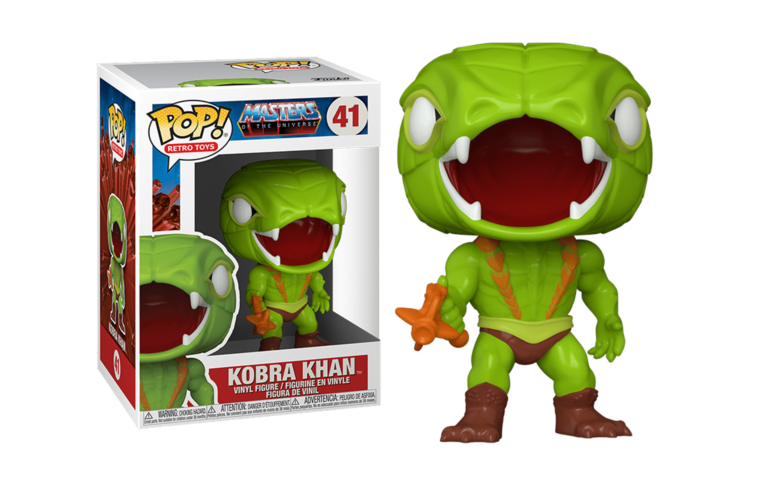 Masters of the Universe Kobra Khan 41 Funko POP Vinyl Figure