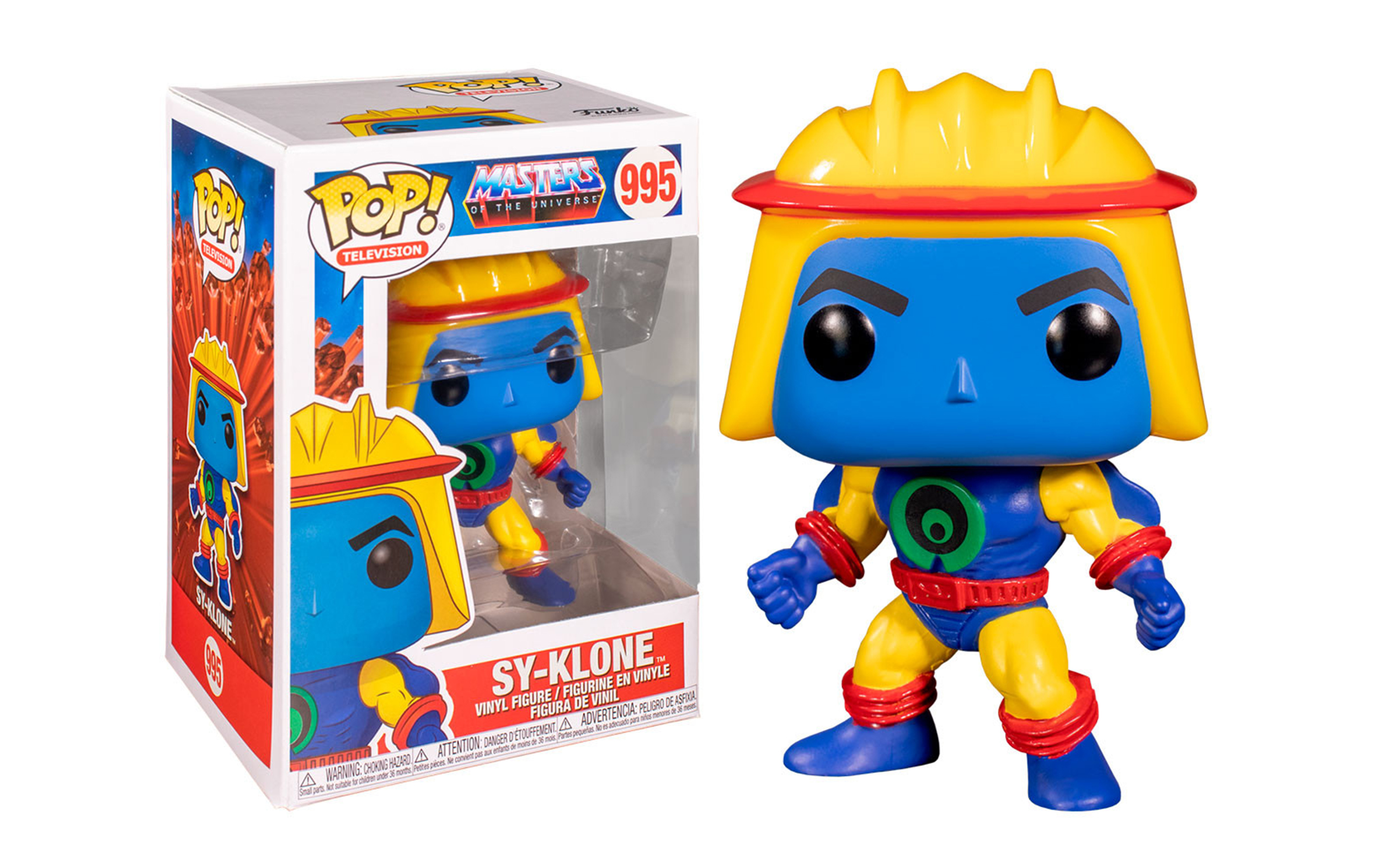 Masters of the Universe Sy-Klone 995 Funko POP Vinyl Figure