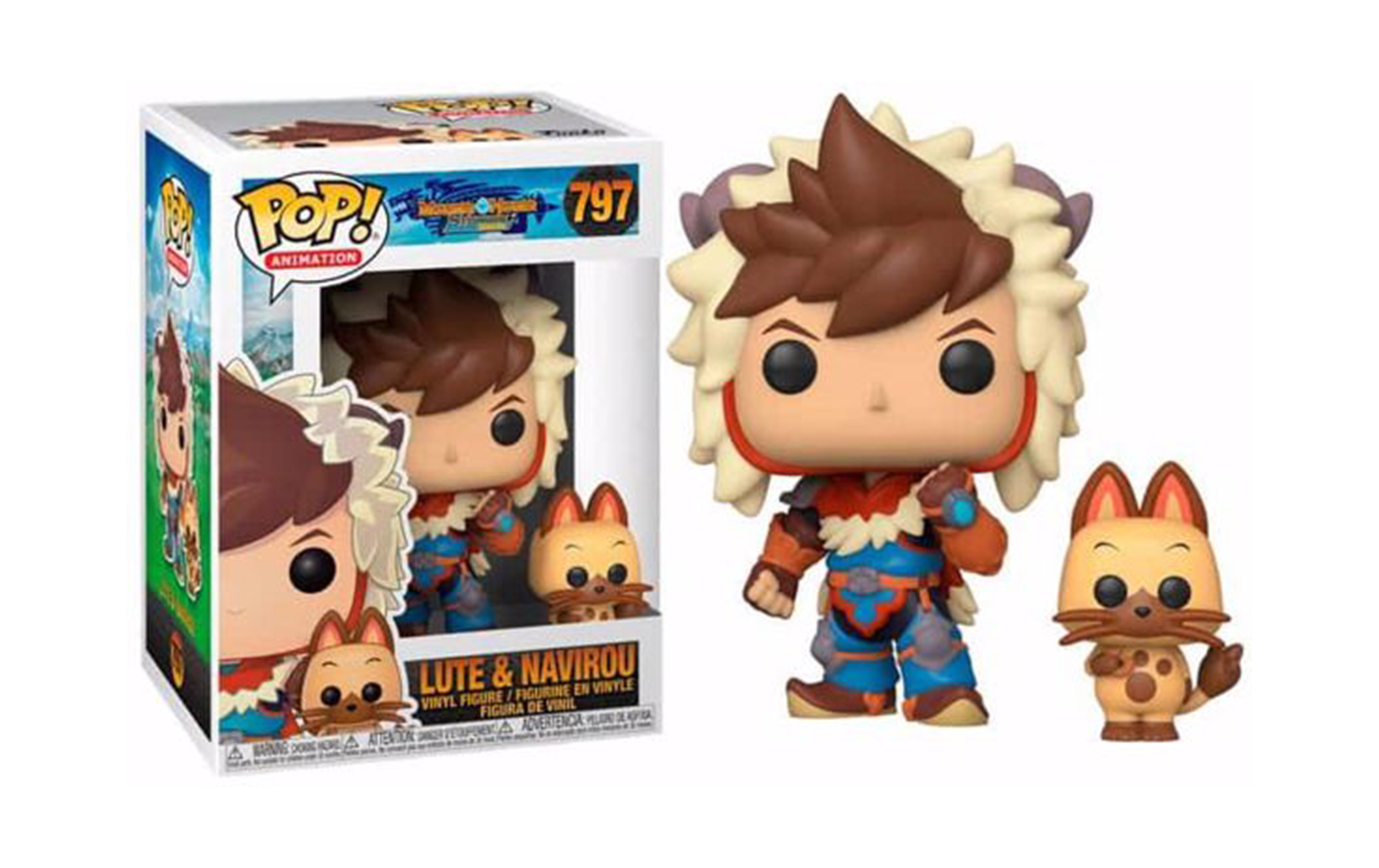 Monster Hunter Lute and Navirou 797 Funko POP Vinyl Figure