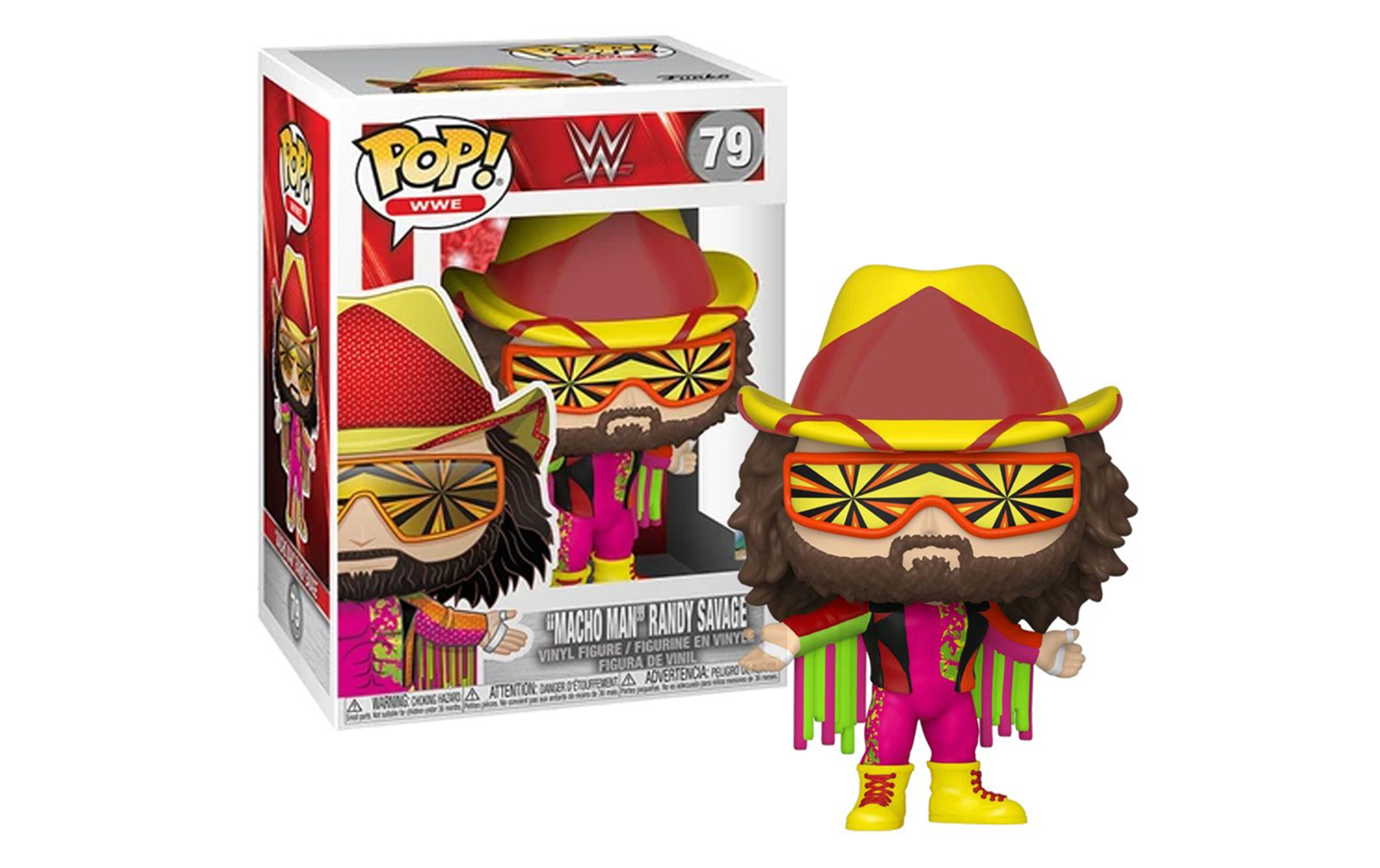 WWE Macho Man 79 Funko POP Vinyl Figure