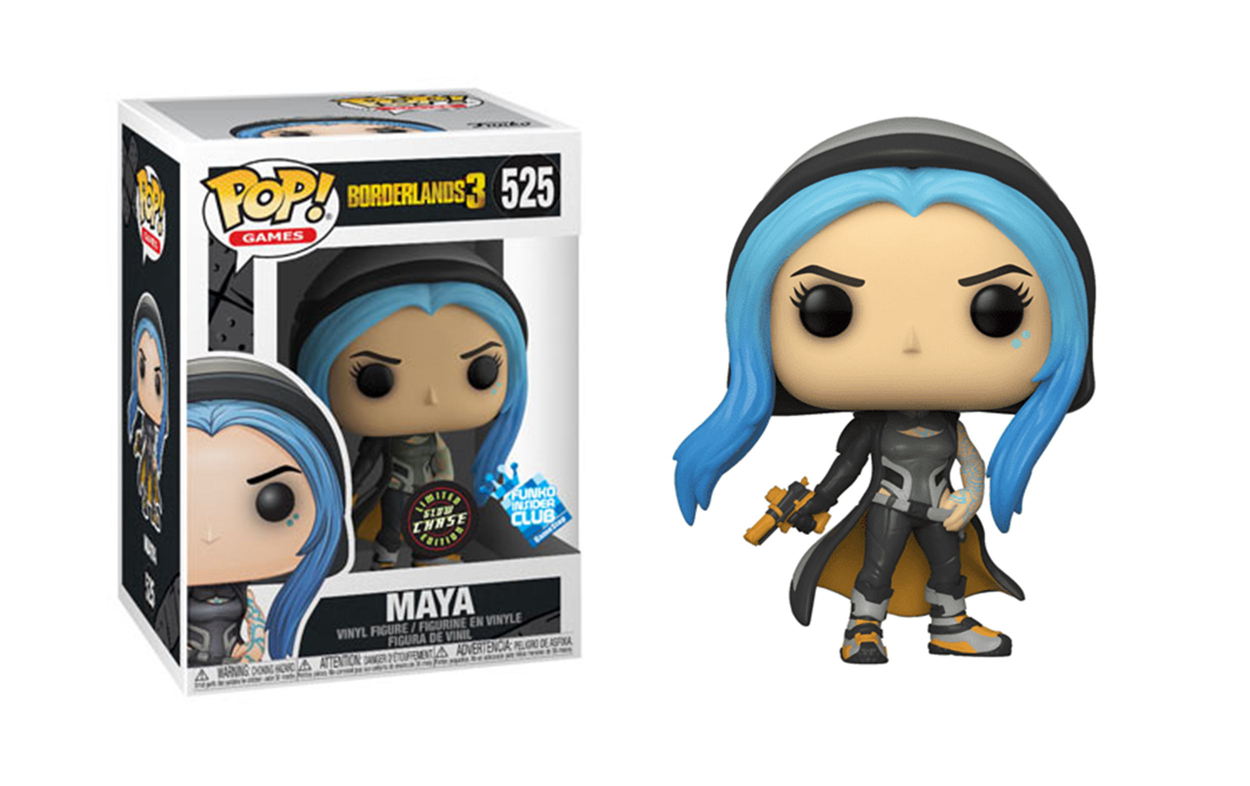 Borderlands 3 Maya Chase GITD 525 Funko POP Vinyl Figure