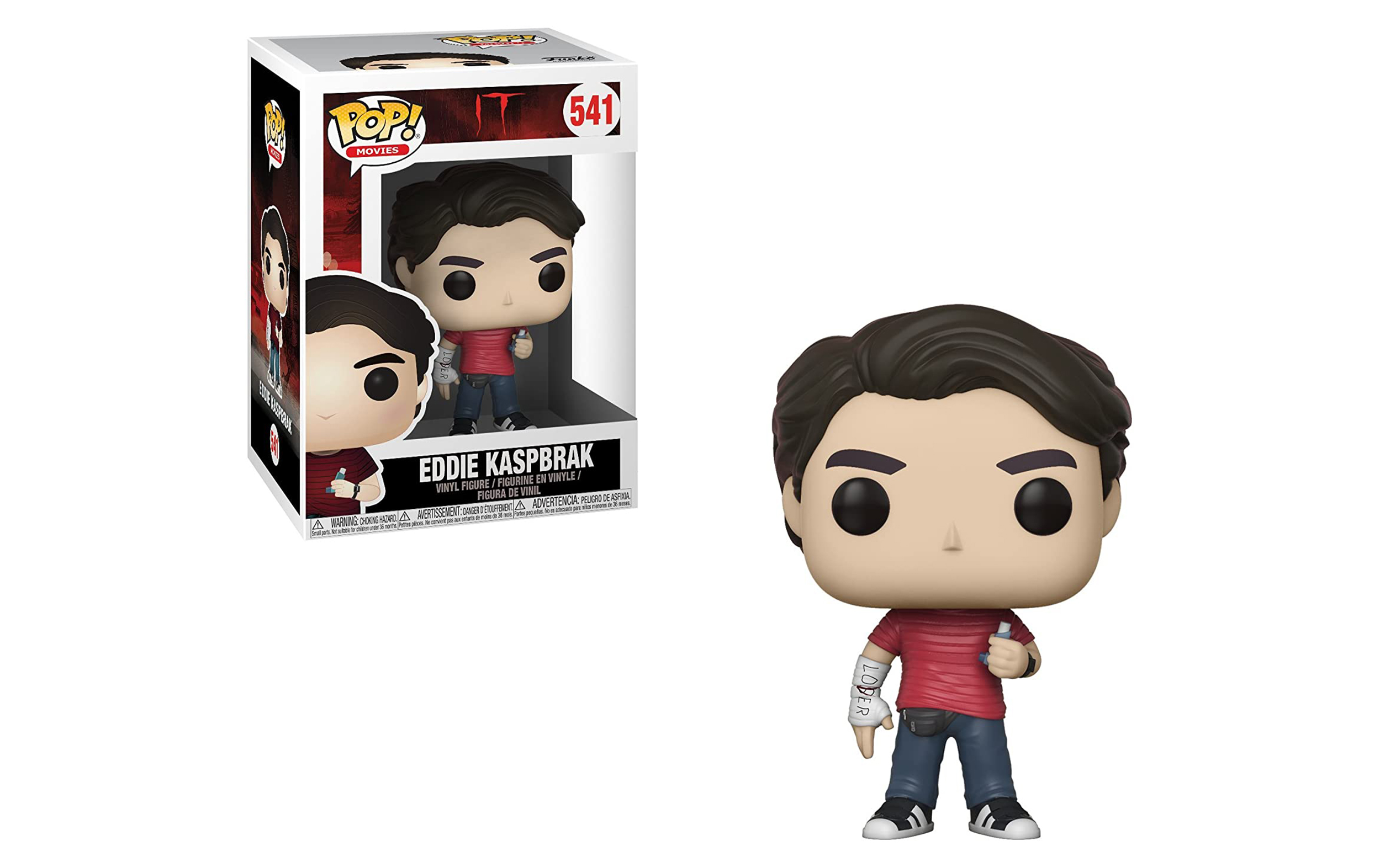 IT Eddie Kaspbrak 541 Funko POP Vinyl Figure