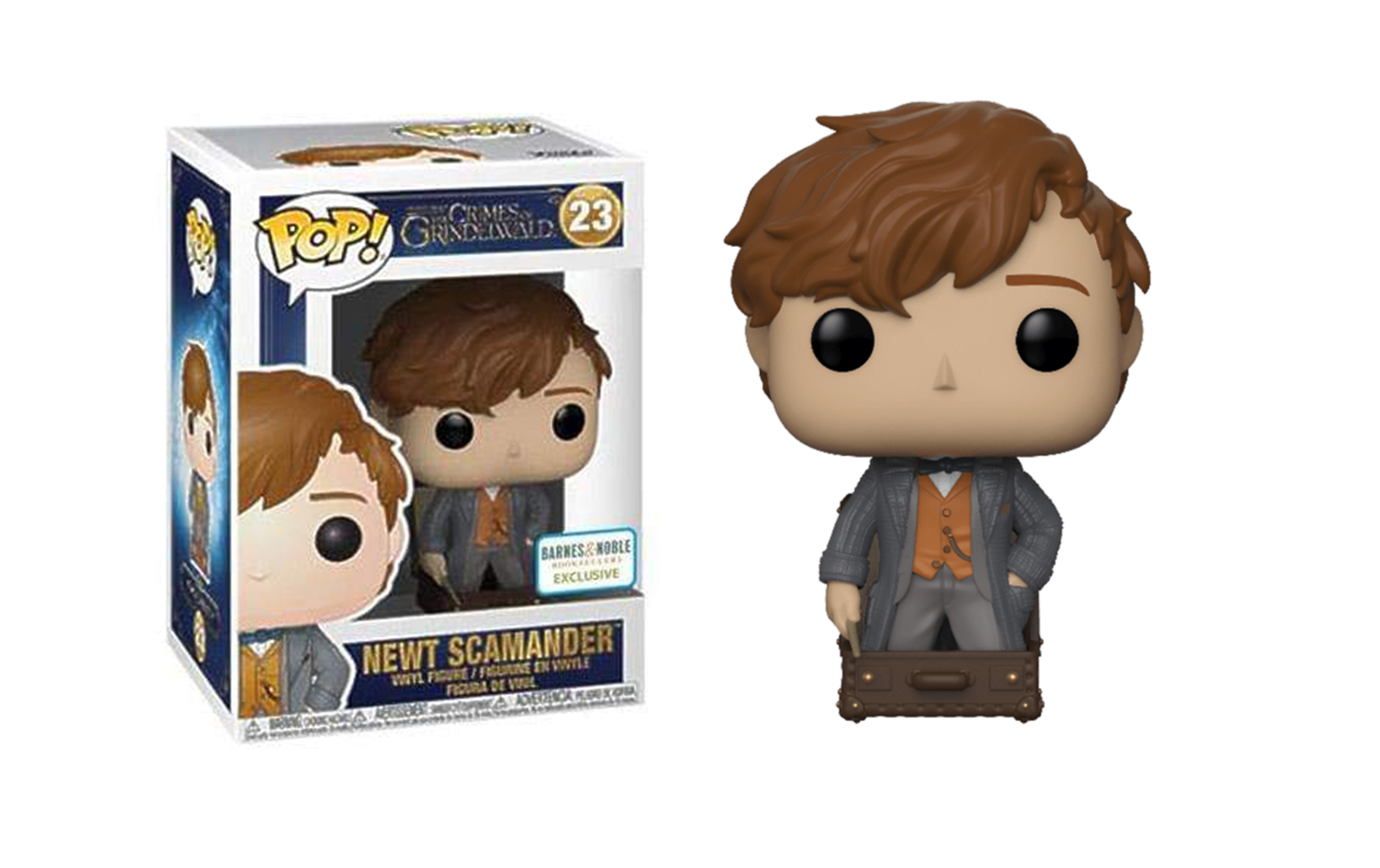Fantastic Beast 2 Newt Scamander Barnes and Noble 23 Funko POP Vinyl Figure
