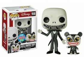 Disney NBX Jack And Vampire Teddy 158 NYCC 2016 Funko POP Vinyl Figure Near Mint