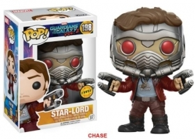 Guardian Of The Galaxy - Star Lord 198 Chase - Funko POP Vinyl Figure
