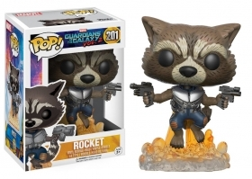 Marvel Guardians of the Galaxy Rocket Racoon 201 Funko POP Vinyl Figure