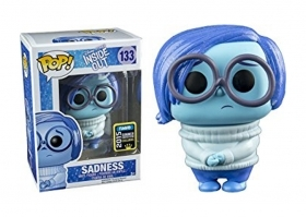 Disney Inside Out Sadness 132 Summer Convention Funko POP Vinyl