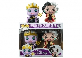 Disney Ursula e Cruella 2 Pack Funko POP Vinyl Figure Box