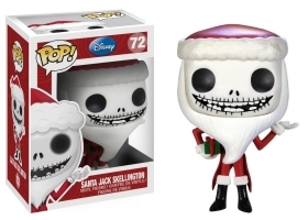 Disney NBX Santa Jack Skellington 72 Funko POP Vinyl Figure