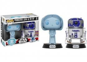 Star Wars Leia R2-D2 2 Pack Summer Convention 2017 Funko POP Vinyl Figure