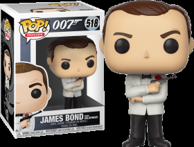 007 James Bond Goldfinger 518 Funko POP Vinyl Figure