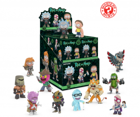 Rick and Morty Funko Mystery Minis Vinyl Figure 1x Blind Box