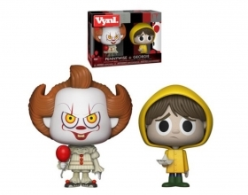 It Pennywise and Georgie Funko Vynl