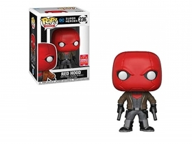 DC Super Heroes Red Hood 236 SDCC 2018 Funko POP Vinyl Figure