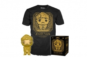 Coming To America Akeem Gold and Tee Target 574 Funko POP Figure Taglia L