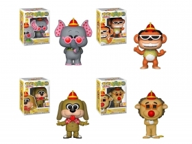 Hanna and Barbera Banana Split Set di 4 SDCC 2018 Funko POP Vinyl Figure