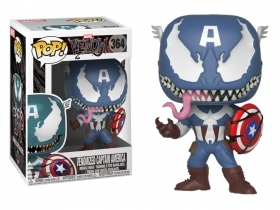 Marvel Venomized Captain Ameri