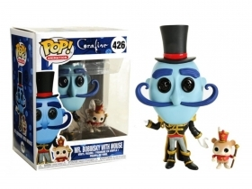 Coraline Mr. Bobinsky with Mouse 426 Funko POP Vinyl Figure