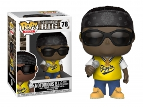 Notorius B.I.G. with Jersey 78 Funko POP Vinyl Figure