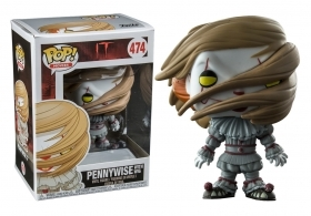 IT Pennywise with Wig 474 Funko POP Vinyl Figure
