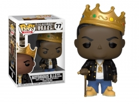 Notorius B.I.G. with Crown 77