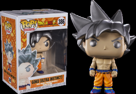 Dragon Ball Super Goku Ultra instinct 386 Funko POP Vinyl Figure