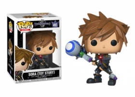 Kingdom Hearts 3 Sora Toy Story 493 Funko POP Vinyl Figure