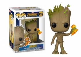 Marvel Avengers Infinity War Groot with Stormbreaker 416 Funko POP Vinyl