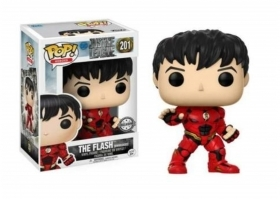 DC Comics Justice League Flash Unmasked 201 Funko POP Vinyl Figure