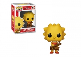 The Simpson Lisa Simpson 497 Funko POP Vinyl Figure