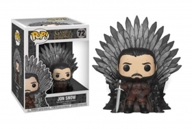 Game Of Thrones jon Snow On Iron Throne 72 Funko POP Vinyl Figure