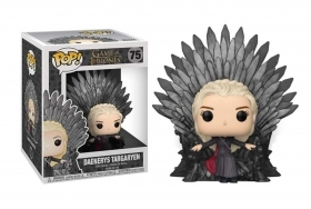 Game Of Thrones Daenerys Targaryen On Iron Throne 75 Funko POP Vinyl Figure