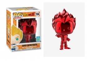 Dragon Ball Z Vegeta Red Chrome Summer Convention 2019 Funko POP Vinyl Figure