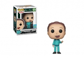 Rick and Morty Tracksuit Jerry Summer Convetion 2019 Funko POP Vinyl Figure