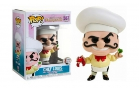 Disney Little Mermaid Chef Louis 567 Funko POP Vinyl Figure