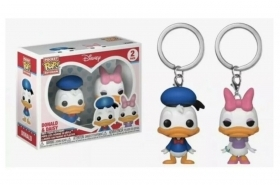 Disney Donald and Daisyl 2 Pack Pocket POP Keychains