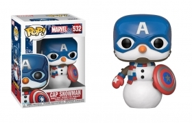 Marvel Holiday Cap Snowman 532 Funko POP Vinyl Figure