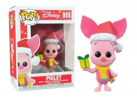 Disney Holiday Piglet 615 Funko POP Vinyl Figure